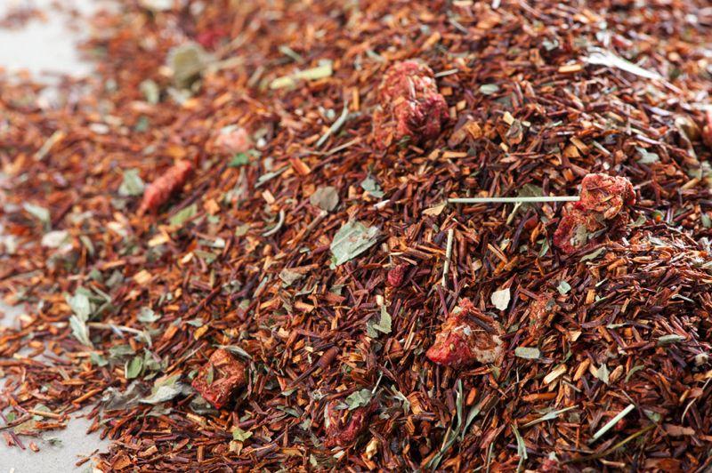 Rotbuschtee Erdbeer-Sahne
