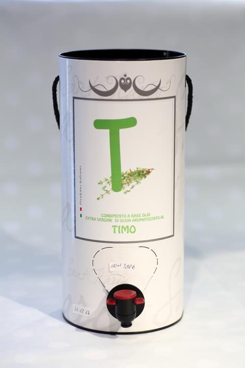 Thymian auf Olivenöl
