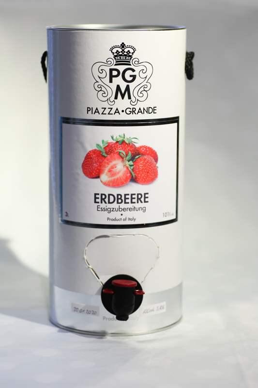 Erdbeer Essig