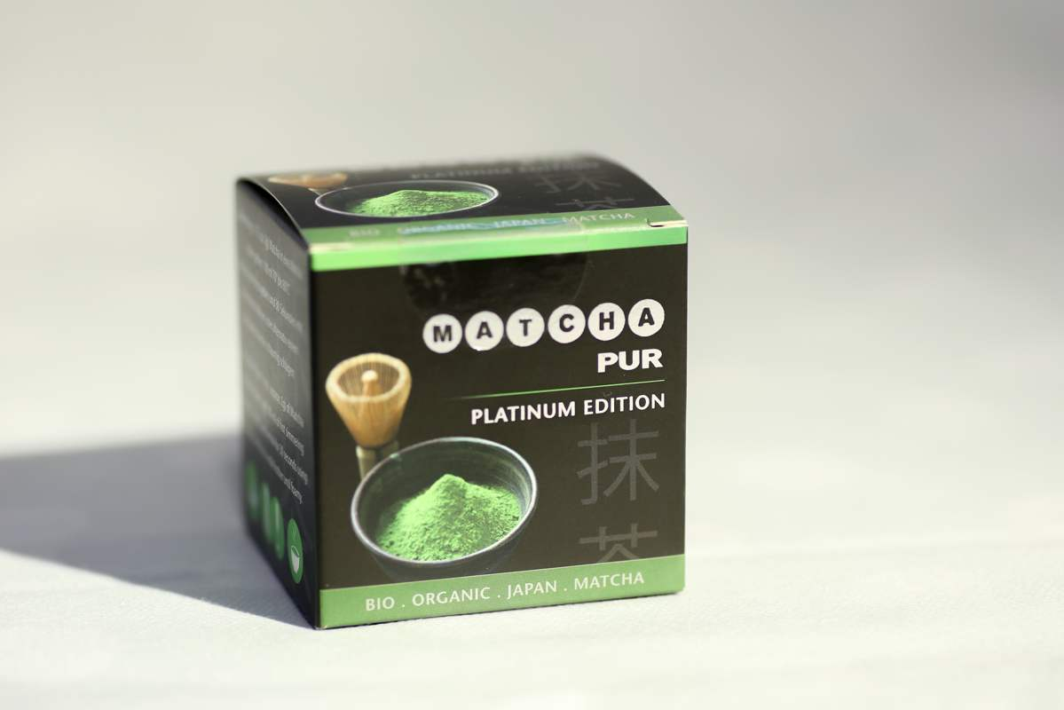 Japan Original Matcha pur Bio Platinum Edition